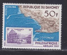 DAHOMEY AERIENS N°   98 ** MNH Neuf Sans Charnière, TB (D8579) Exposition Philexafrique à Abidjan - 1969 - Bénin – Dahomey (1960-...)