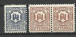 GERMANY O 1890 BREMEN ? Privater Stadtpost Local City Post MNH - Poste Privée