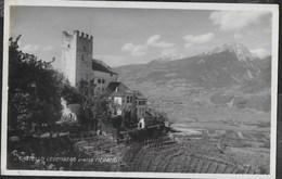 CASTELLO LEBENBERG PRESSO MERANO - FOTOEDIZIONE STRICKER 1926 - FORMATO PICCOLO - VIAGGIATA DA BEZZECCA 1930 - Castelli