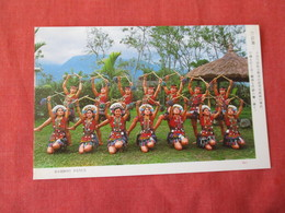 Ami Tribes Girl -  Bamboo Dance  Taiwan    Ref 3167 - Taiwan