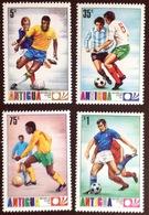 Antigua 1974 World Cup MNH - Antigua And Barbuda (1981-...)