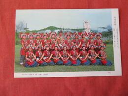 Young   Girls Of Ami Tribe     Taiwan    Ref 3167 - Taiwan