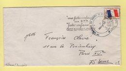 Mulhouse - 57e Groupe Des Services De Transports - Timbre FM - 1967 - Postmark Collection (Covers)