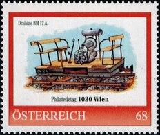 Philatelietag 1020 Wien Draisine BM 12 A, Pers.BM, Bogennummer 8117685** - Österreich