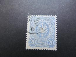 DR Nr.   42aa, 1880, Gestempelt, BPP Geprüft, BS - Alemania