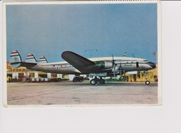 Vintage Rppc KLM K.L.M Royal Dutch Airlines Lockheed Constellation L-749 Aircraft - 1919-1938: Entre Guerres