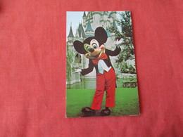 Mickey Mouse Welcome To The Magic Kingdom    Disneyworld   Ref 3167 - Disneyworld