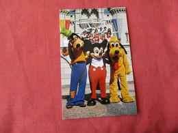Goofy Mickey & Pluto     Disneyworld   Ref 3167 - Disneyworld