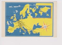Vintage Rppc KLM K.L.M Royal Dutch Airlines Lockheed Constellation L-749 Worldnet - 1919-1938: Entre Guerres