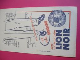 Cirage Crème/LION NOIR/Des Chaussures Nettesun éclat Incomparable/D'aprés Studio Bernheim/Vers 1940-1960    BUV319 - Waschen & Putzen