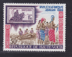 HAUTE-VOLTA AERIENS N°   63 ** MNH Neuf Sans Charnière, TB (D8581) Exposition Philexafrique à Abidjan - 1969 - Haute-Volta (1958-1984)