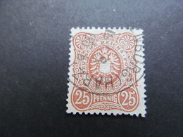 DR Nr. 43b, 1880, Gestempelt, BPP Geprüft, BS - Deutschland