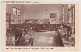 Dordrecht - MTS Materiaal Laboratorium - Oud - Dordrecht