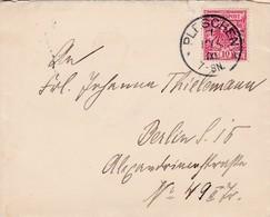 Brief Aus Pleschen 1900 - Allemagne