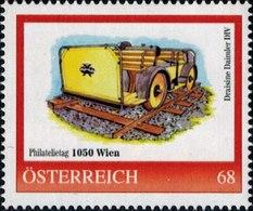 Philatelietag 1050 Wien Draisine Daimler DIV, Pers.BM, Bogennummer 8118625** - Österreich