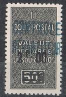 ALGERIE COLIS POSTAL N°18 N* - Algérie (1924-1962)