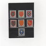 FRANCE    1954  Y.T. N° 999  à  1005  NEUF**  Sous Blister - 1941-66 Stemmi E Stendardi