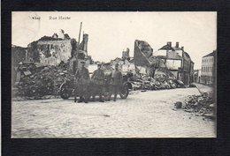 Belgique / Liège ? Visé / Rue Haute (ruines ) / Militaria 1914/1918 ,Soldats Allemands,WWI - Luik