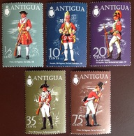 Antigua 1971 Military Uniforms MNH - Antigua And Barbuda (1981-...)