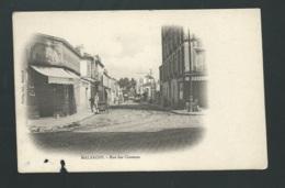 MALAKOFF. Rue Des Clozeaux  ( Defectueuse Mais Inédite Sur Delcampe Ainsi à Ce Jour  Gam99 - Malakoff