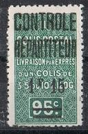 """ALGERIE COLIS POSTAL N°28b N*   Variété """"5"""" Au Type 2 - Algérie (1924-1962)"""