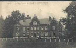 CPA GAGES Château De M Le Comte De Lichtervelde - Brugelette