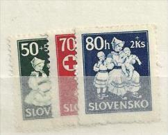 1943 MNH Slowakei, Slovensko, Postfris** - Slovakia