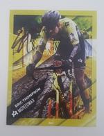 Cp Carte 2018 2019 Eric ThomsonCyclo Cross Signé Cyclisme Cycling - Cyclisme