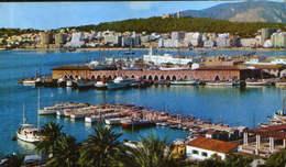 Spain - Postcard Used,circulated In 1971  - Mallorca ,Palma - Partial View Of The Port  - 2/scans - Palma De Mallorca