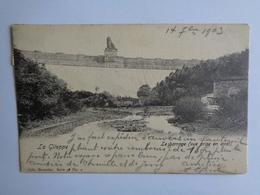 La Gileppe - Le Barrage - Vue Prise En Aval - Jalhay