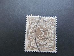 DR Nr. 45b, 1889, Gestempelt, BPP Geprüft, BS - Gebraucht