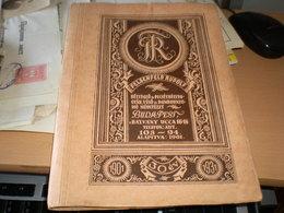 Factory Of Seals And Stamps Felsenfeld Rudolf Belyegzo Es Pecsetbelyeg Gyar Veso Es Dombornyomo Muintezet Budapest 50 Pg - Werbung