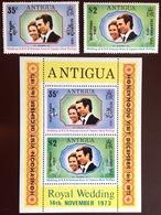Antigua 1973 Honeymoon Set & Minisheet MNH - Antigua And Barbuda (1981-...)