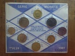 REPUBBLICA - 1981 Annata Completa F.D.C. + Spese Postali - 1946-… : République