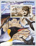 TAAF 2018 Block MNH Crozet Alfred Faure  Birds Bird Oiseaux Oiseau - Oiseaux