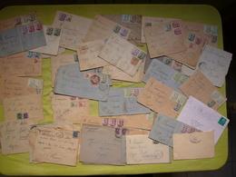 Lot De 48 Lettres D'Espagne 1940 Nombreux Cachets De Censure Militaire - Marques De Censures Nationalistes