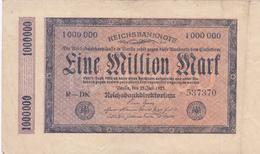 Reichsbanknote 1923 - 1 Million Mark
