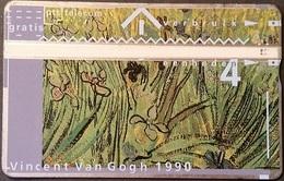 Telefonkarte Niederlande - L&G - 4 Units - 1990 - Vincent Van Gogh - 003A - öffentlich