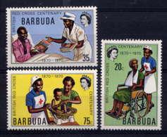 BARBUDA - 191/192** - CENTENAIRE DE LA CROIX ROUGE BRITANNIQUE - Timbres