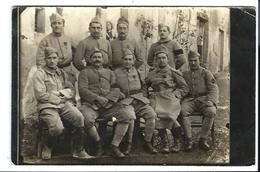 CUREL - Haute Marne - Groupe De MILITAIRES Guerre 14/18 - Dont Médaillés - CARTE PHOTO Datée Du 07/12/1917 - Autres Communes