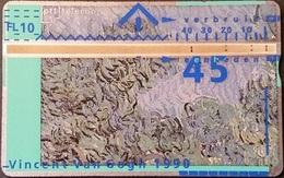 Telefonkarte Niederlande - L&G - 45 Units - 1990 - Vincent Van Gogh - 006F - öffentlich
