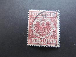 DR Nr. 50ba, 1889, Gestempelt, BPP Geprüft, BS - Used Stamps