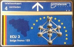 Telefonkarte Niederlande - L&G - 4 Units - ECU 3 - Belgien - 304L - öffentlich