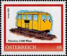 Philatelietag 1100 Wien, Draisine BM 35, Pers.BM, Bogennummer 8120270** - Österreich
