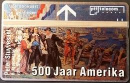 Telefonkarte Niederlande - L&G - 4 Units - Peter Stuyvesant - 211L - öffentlich