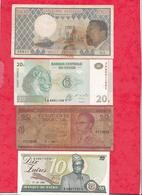 Autres-Afrique 8 Billets  2 En UNC 2 Dans L 'état  1  état Moyen Et 3 Usagés   Lot N °13 - Billets