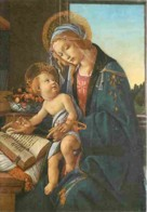 Art - Peinture Religieuse - Sandro Botticelli - La Vierge Avec L'Enfant - Voir Scans Recto-Verso - Quadri, Vetrate E Statue