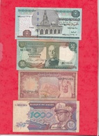 Autres-Afrique 8 Billets  5  Dans L 'état  1  état Moyen Et 2 Usagés   Lot N °14 - Billets