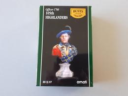 Buste Officier 105 Th Highlanders 1760  1/10  Amati  & - Army