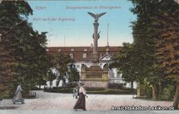 Ansichtskarte Erfurt Kriegerdenkmal Im Hirschgarten 1911 - Erfurt